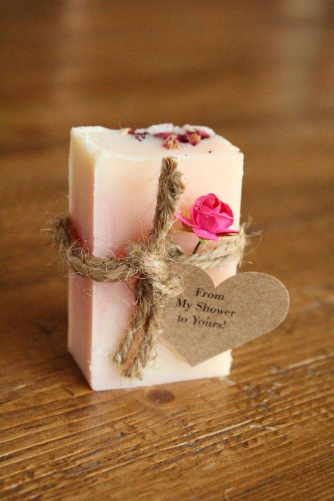 bridal shower soap bar