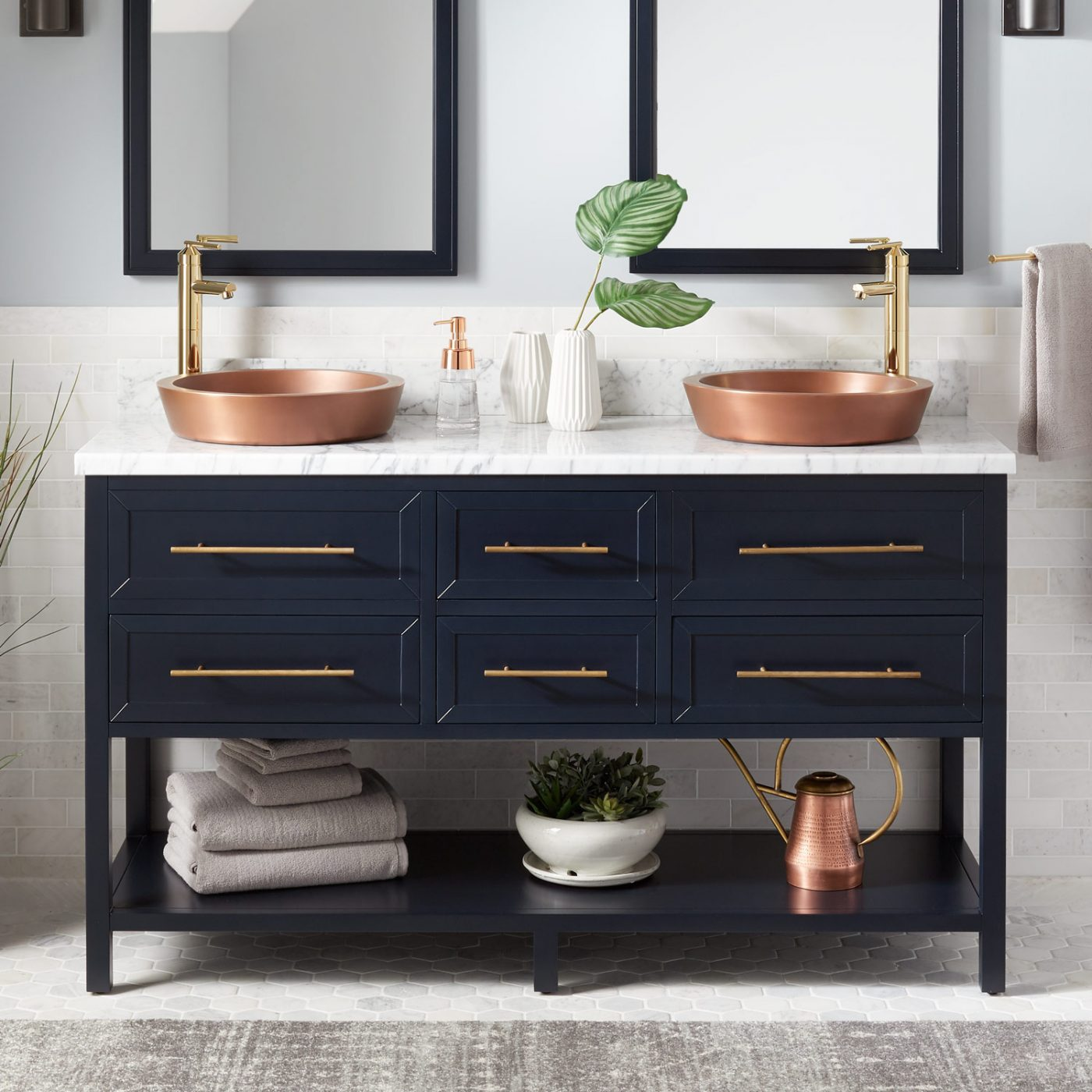 Farmhouse Style Bathroom Sink Faucets Image Of Bathroom And Closet