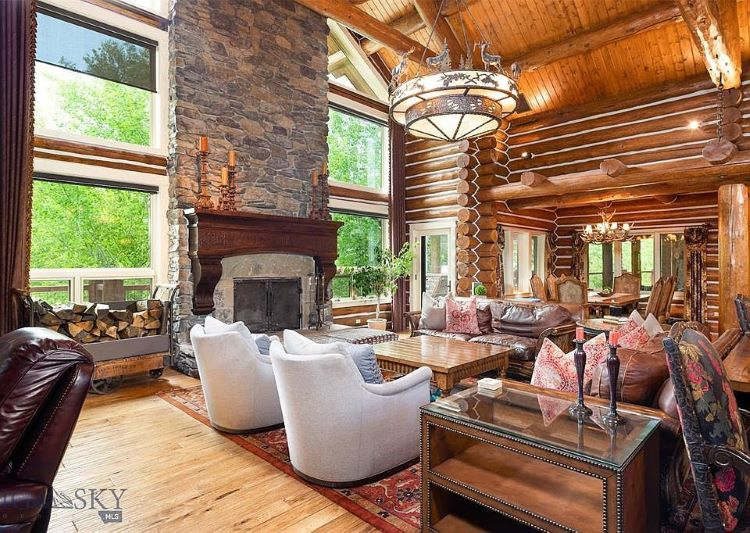 4 Dream Ranch Homes - American Farmhouse Lifestyle on family room cottage, family room mansion, family room modern house, family room bi-level house, dining room ranch house, living room ranch house,