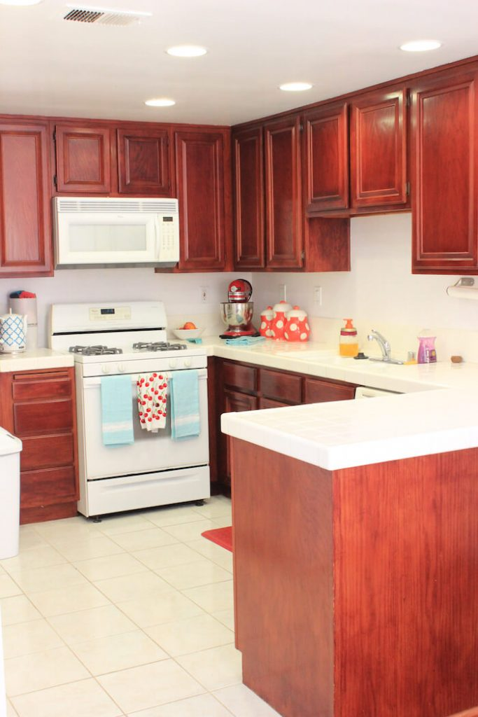How To Repaint Kitchen Cabinets American Farmhouse Lifestyle