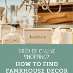 Antique chandelier and a collection of vintage items from Holly Thompson homes.