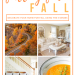 Images of fall travel and food
