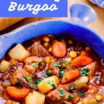 Kentucky burgoo recipe Pinterest banner