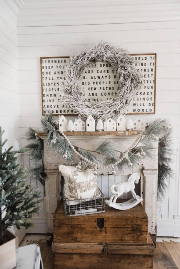Farmhouse Christmas Decorating Ideas American Farmhouse Lifestyle