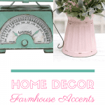 Home decor accents text for Gabby's Farmhouse