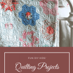 quilt with text