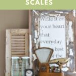 Collecting vintage scales